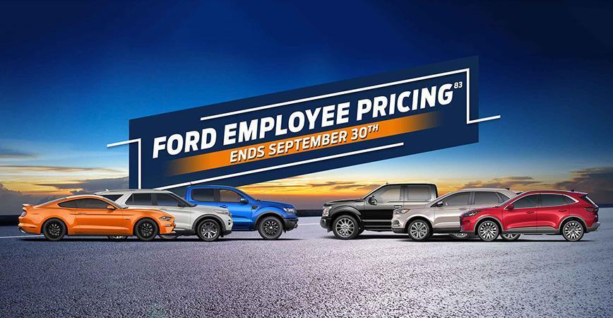 Wayne Pitman Ford's 2020 Employee Pricing Event