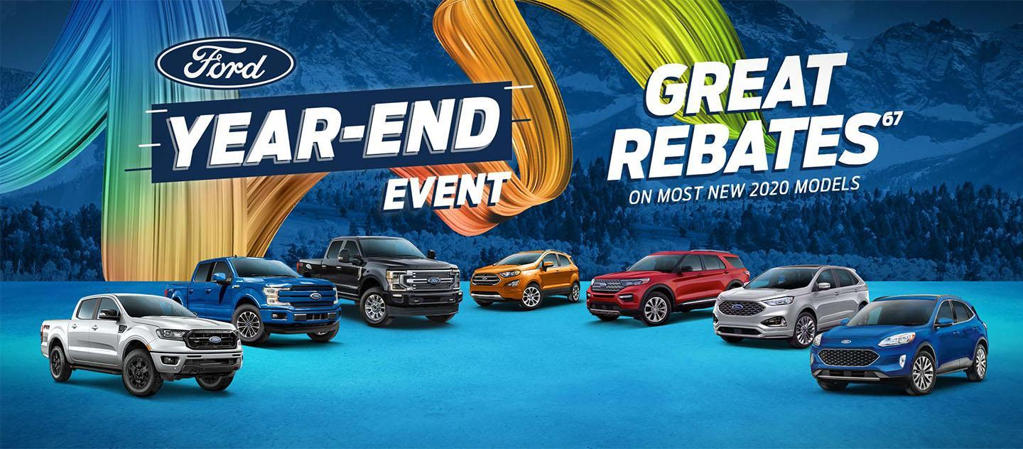 Wayne Pitman Ford's New Offers |  Year End Clear Out