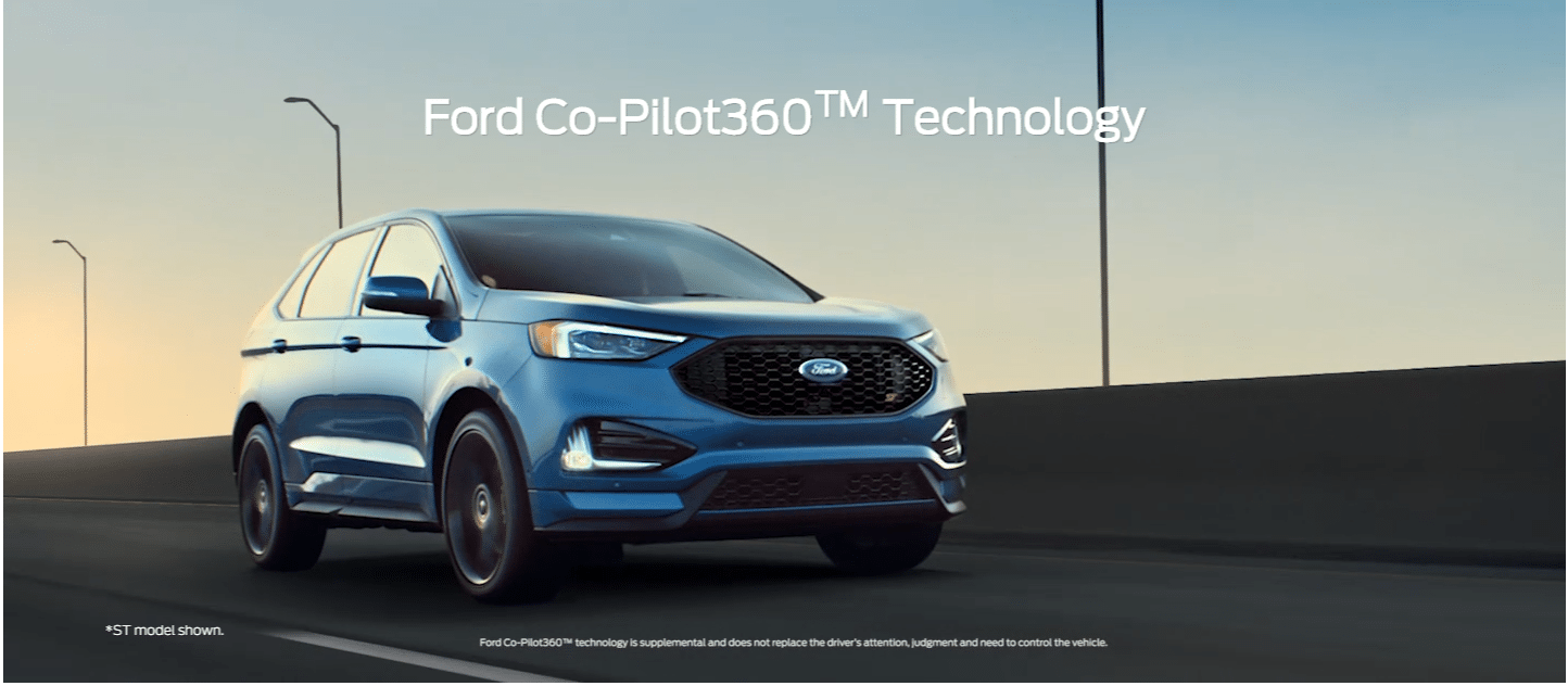 Ford Edge ST with Ford Co- Pilot 360 Technology Features