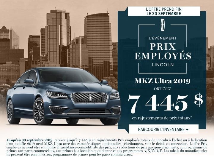 MKZ 2019