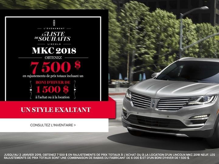 MKC 2018