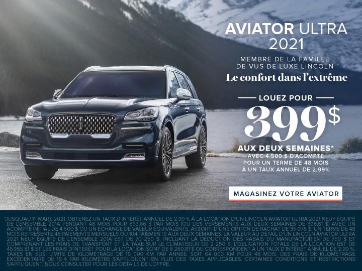 Aviator 2021