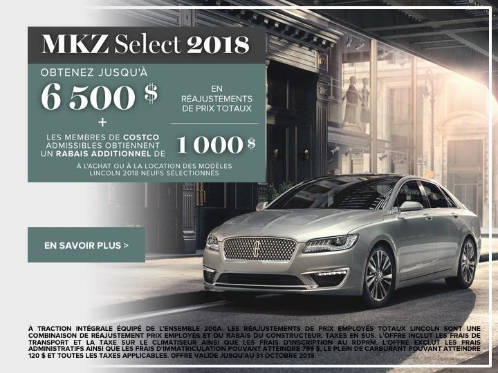 MKZ 2018