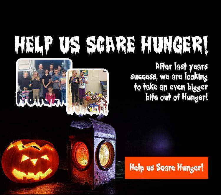 We Scare Hunger Halloween