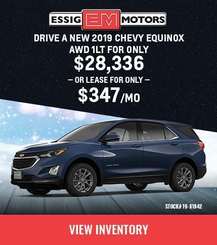 2019 Chevrolet Equinox 1LT AWD