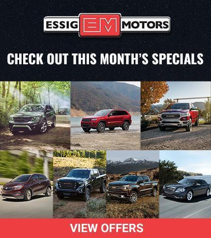 Essig Monthly Specials