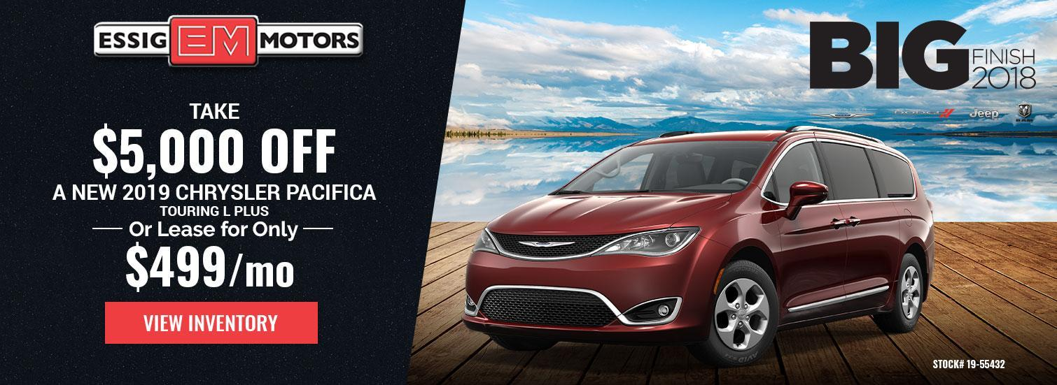 Pacifica Lease Offer
