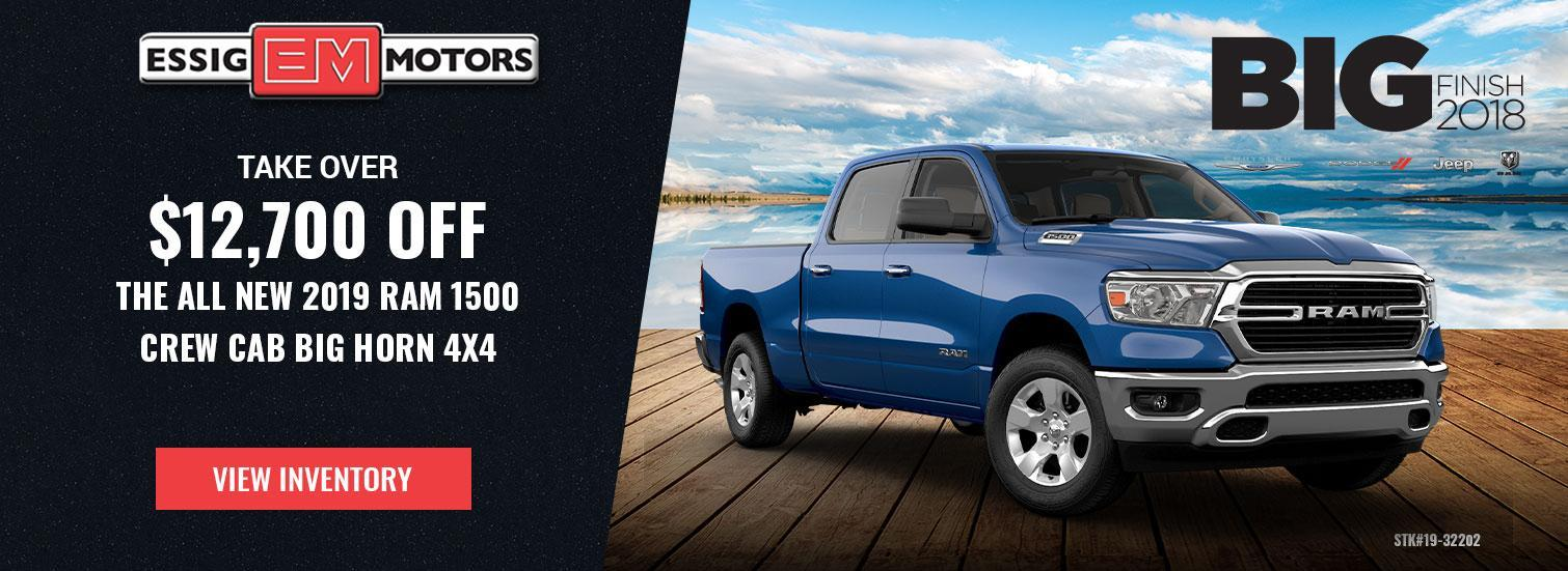 RAM 1500 Lease Offer