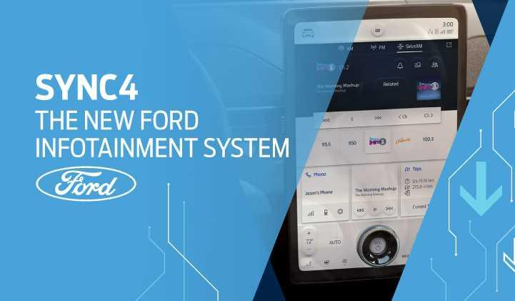 SYNC4 : The new Ford infotainment system