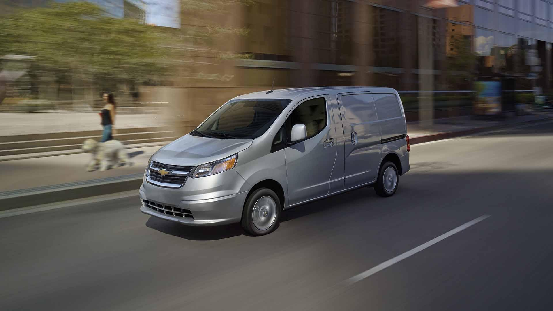 2017 chevy city express