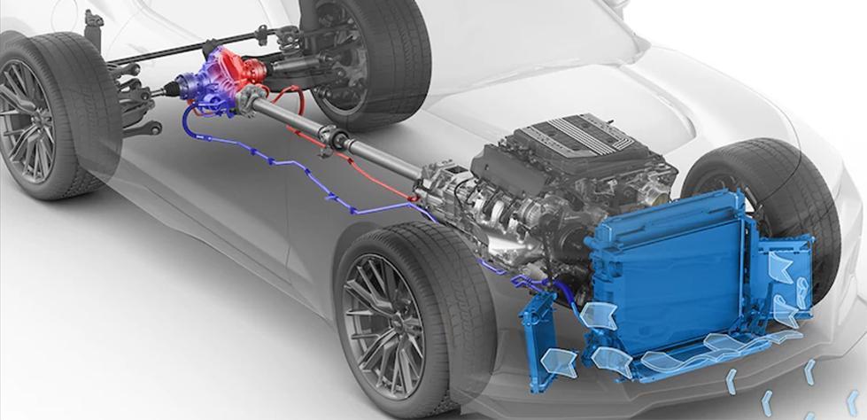 Camaro Cooling System