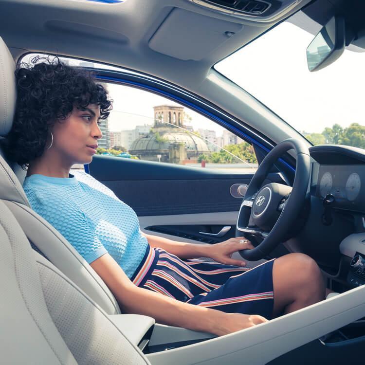 All New 2021 Hyundai Elantra Interior