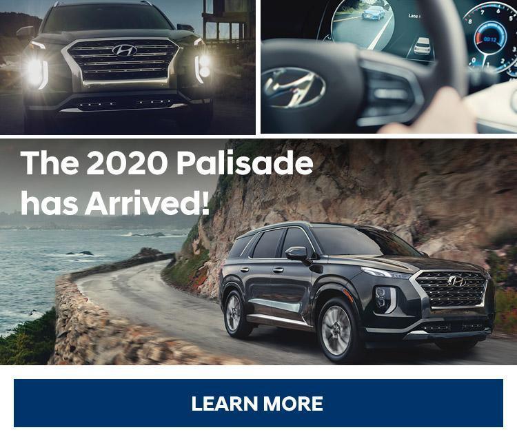 2020 Palisade Central Nova Hyundai