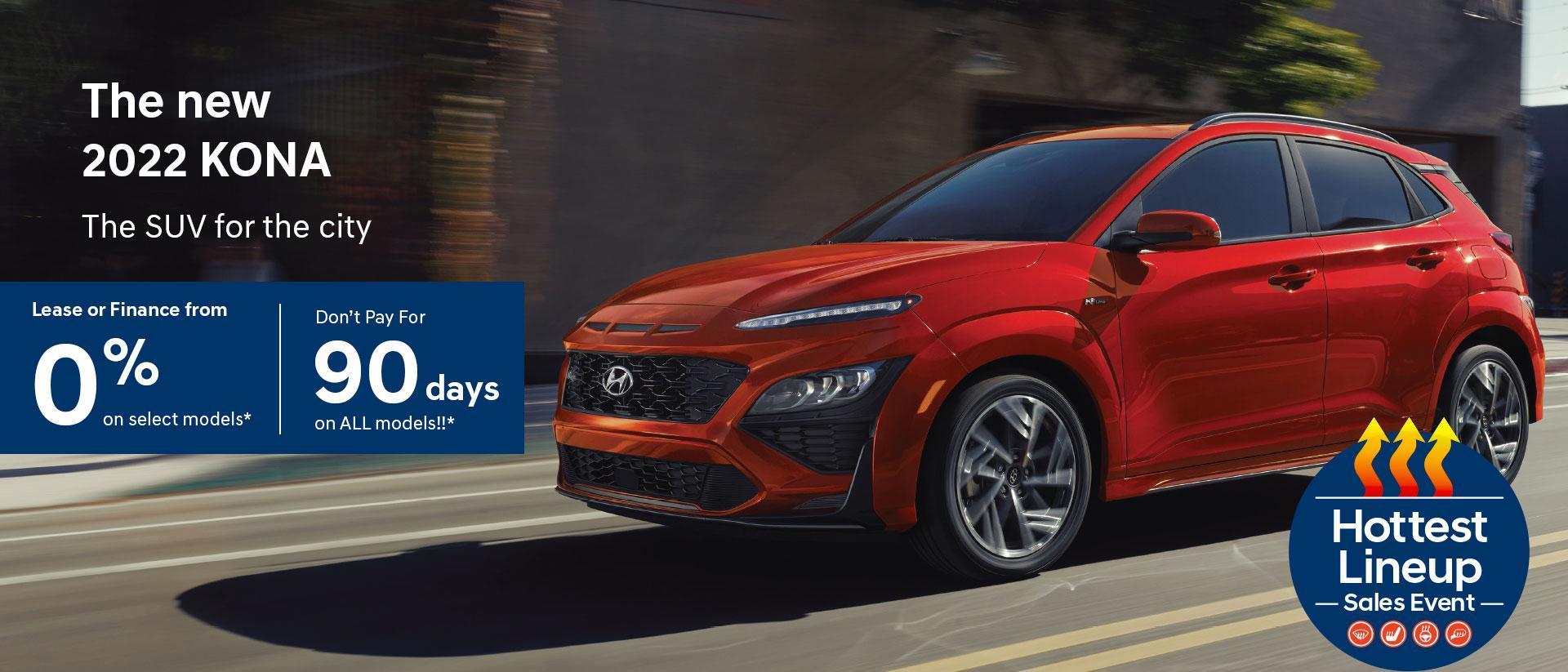 Hottest Lineup Sales Event | Hyundai of Canada | 2022 Hyundai Kona | Central Nova Hyundai