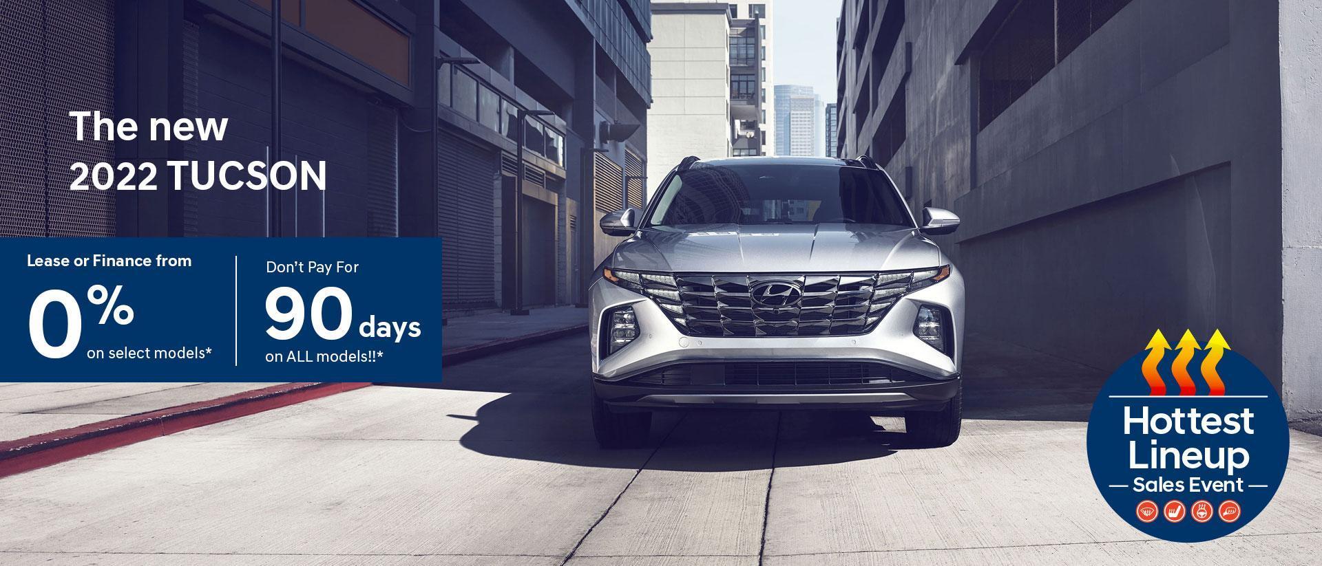 Hottest Lineup Sales Event | Hyundai of Canada | 2022 Hyundai Tucson | Central Nova Hyundai
