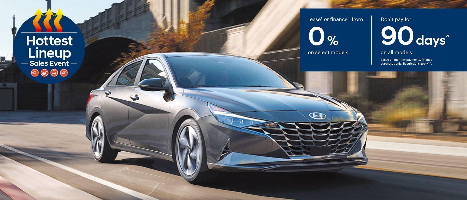 Hottest Line Up Sales Event | Hyundai Canada | Central Nova Hyundai