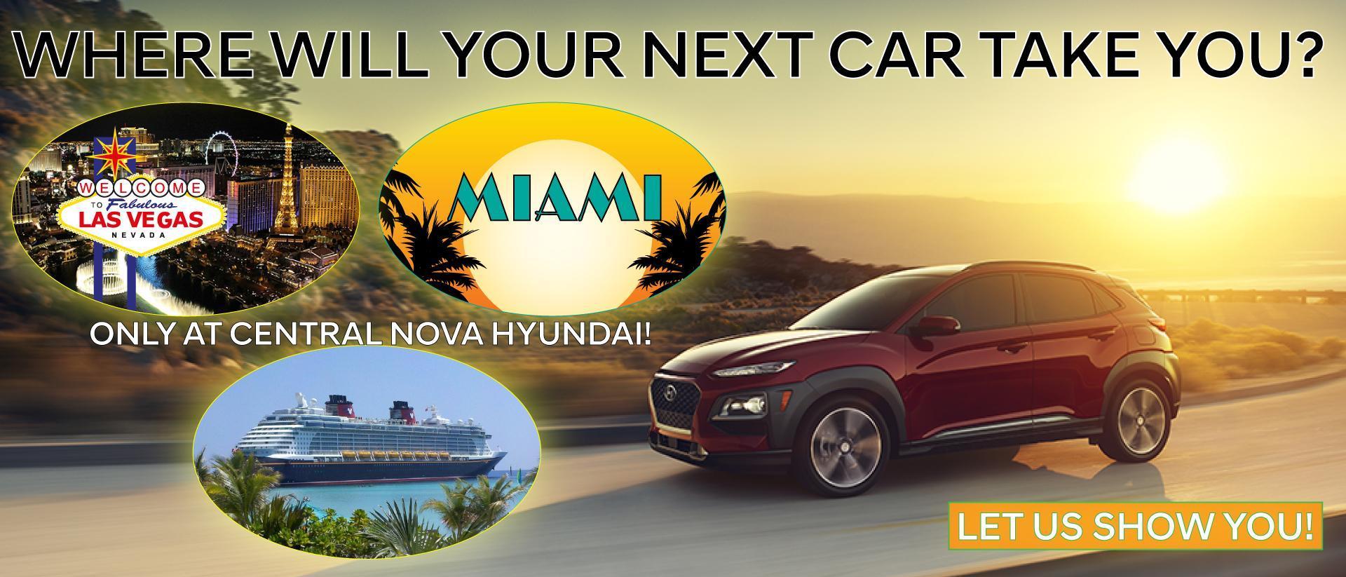 Central Nova Hyundai Vacation