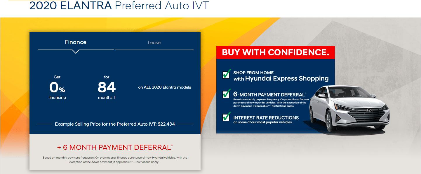Hyundai Elantra Special - 2020