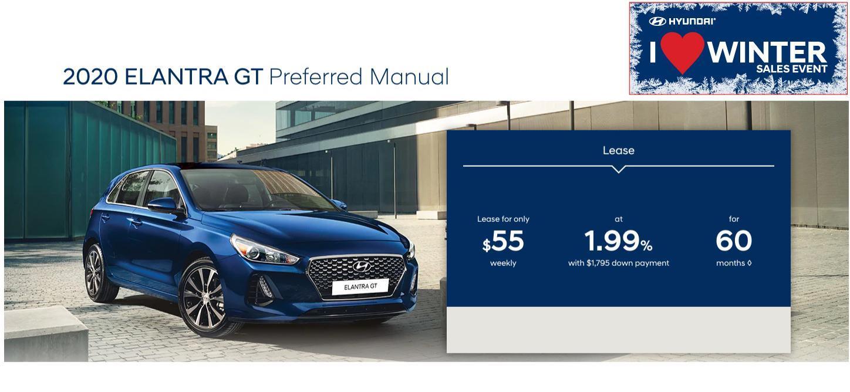 Central Nova Hyundai Elantra GT 2020