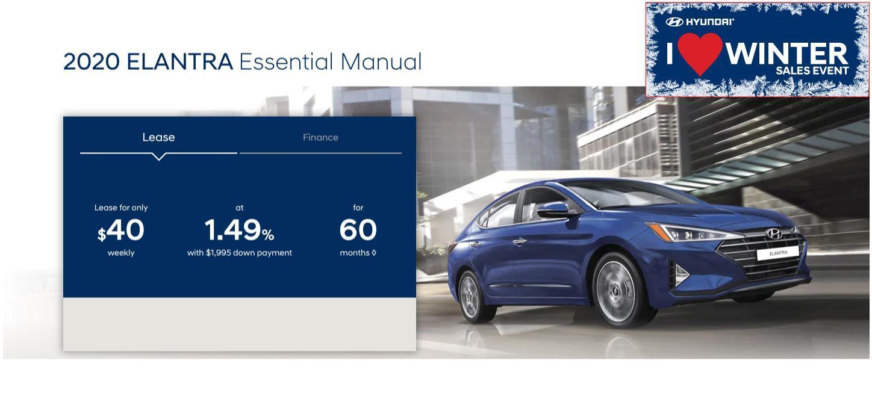 Central Nova Hyundai Elantra Special - 2020