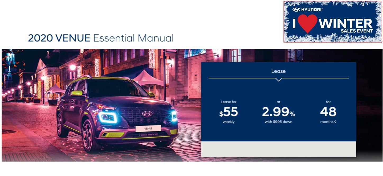 Central Nova Hyundai Venue Special