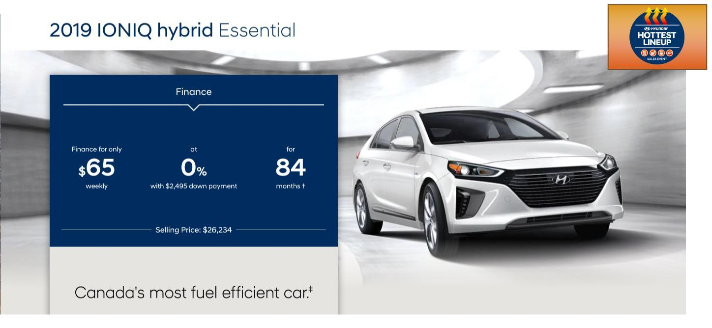 IONIQ Electric Plus Special November