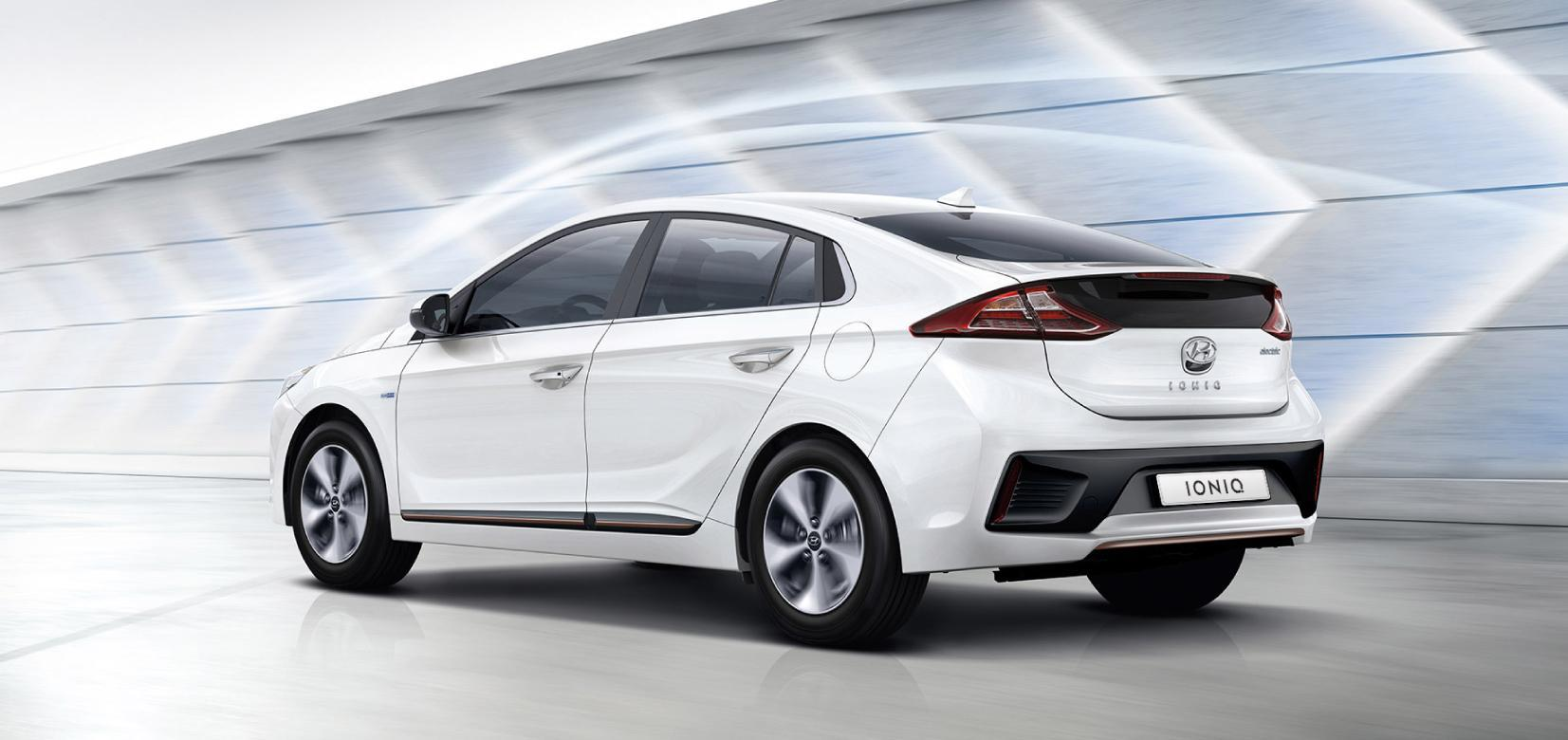 IONIQ electric Backgound