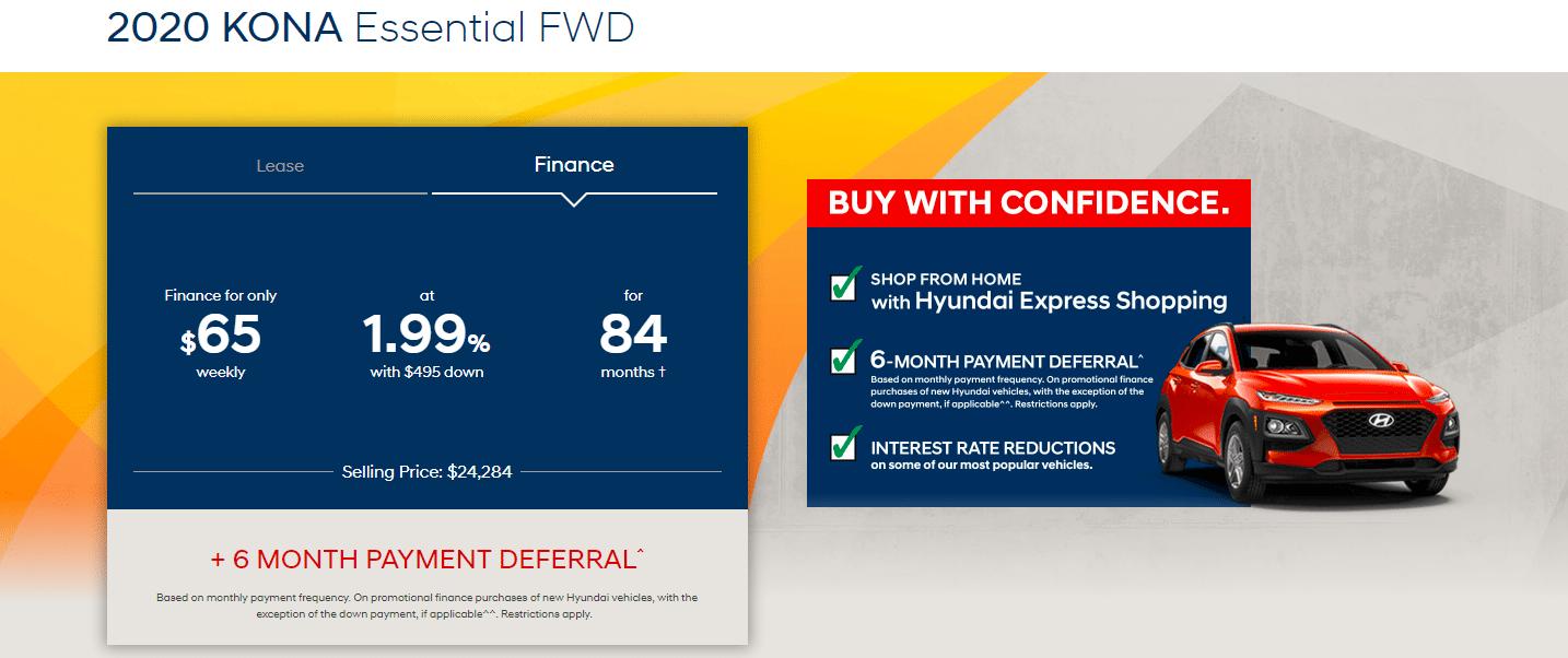 Central Nova Hyundai Kona