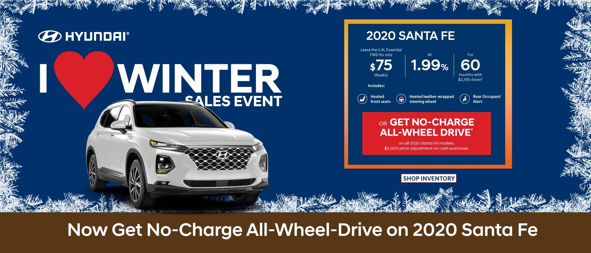 Central Nova Hyundai Santa Fe 2020