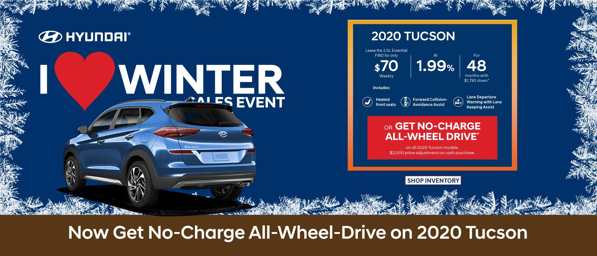 Central Nova Hyundai Tucson Payments 2020
