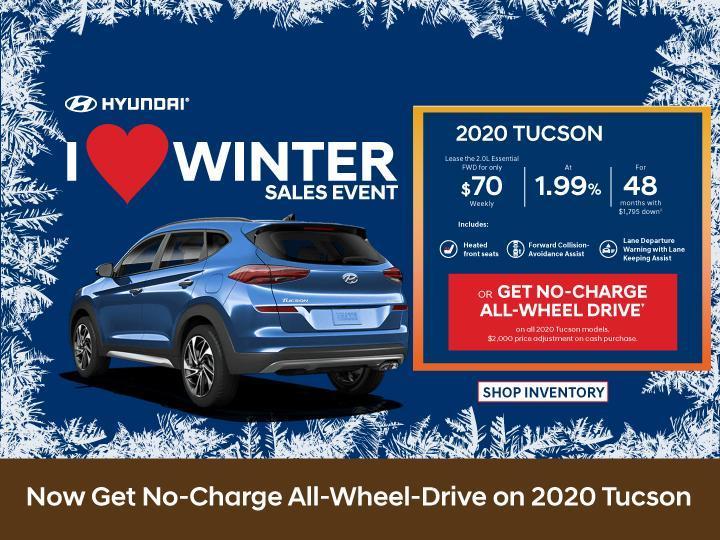 Central Nova Hyundai Tucson 2020
