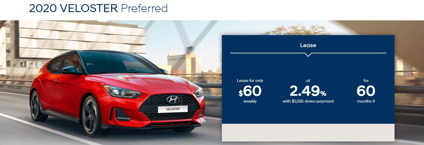 Central Nova Hyundai Veloster Special 2020
