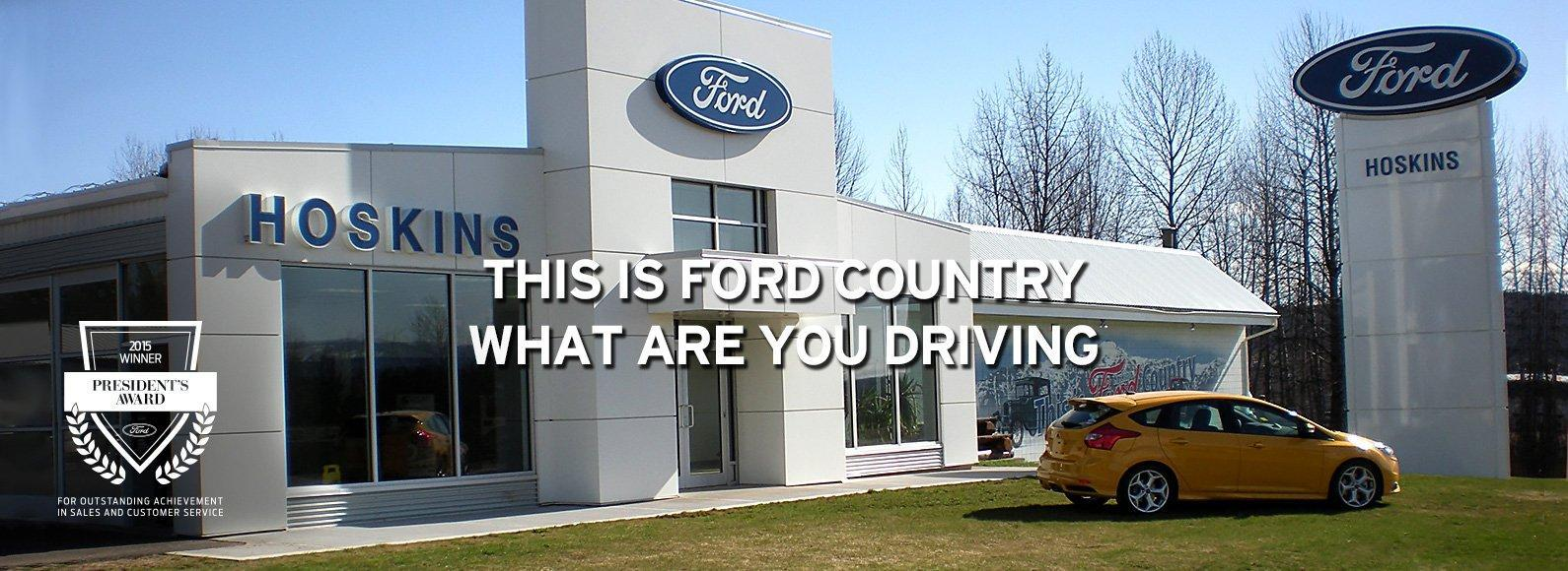 Ford dealer slide