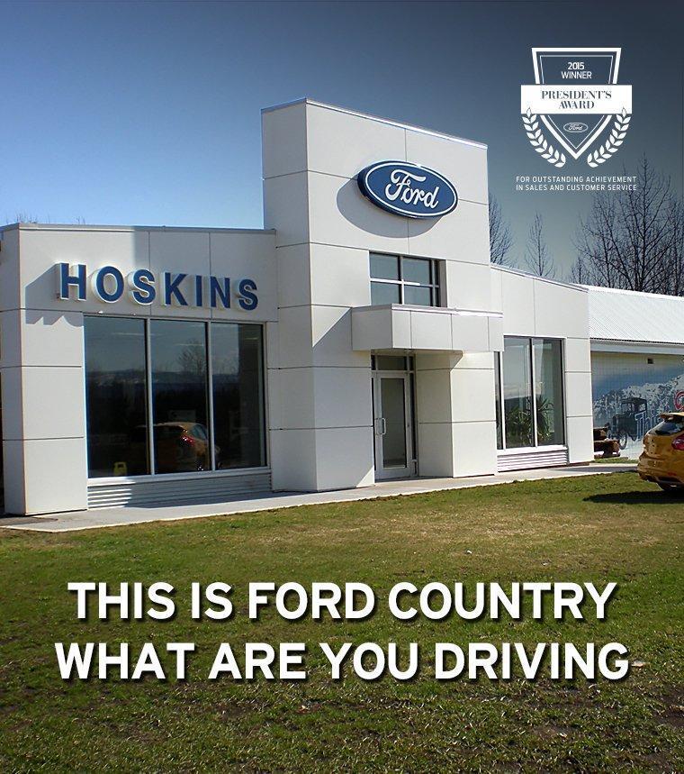Ford dealer slide