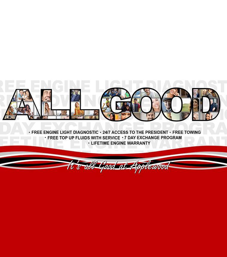 All Good at Applewood Ford
