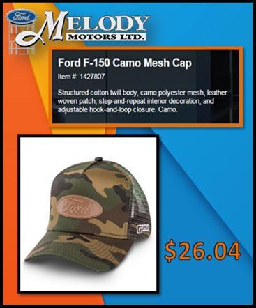 Camo Mesh Cap
