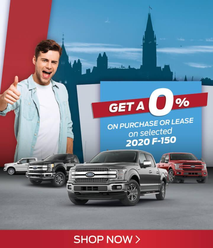 0% lease or purchase on 2020 F-150