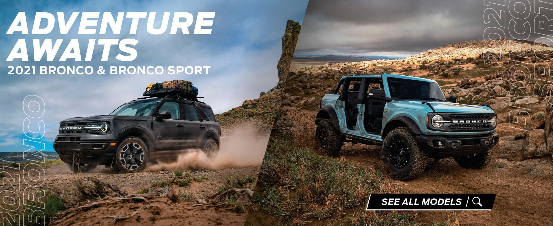 Bronco & Bronco Sport