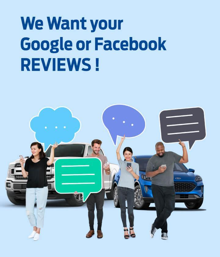 Facebook or Google Review