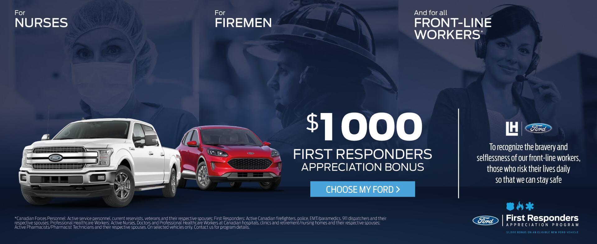 Ford Appreciation Program May 2020