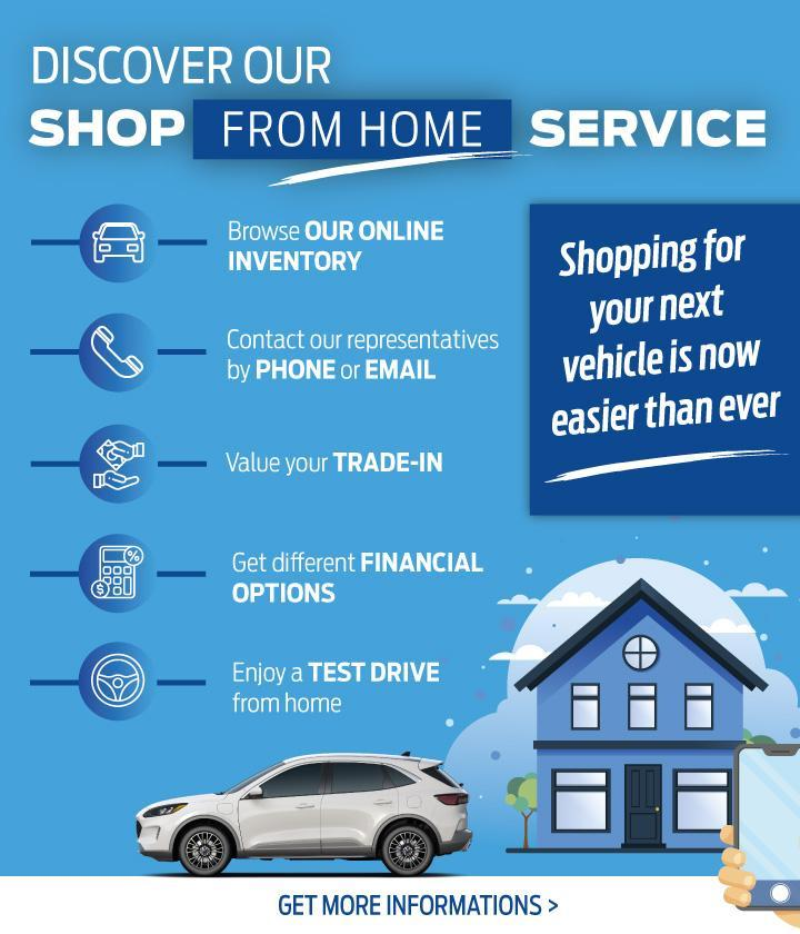 Shop from home service