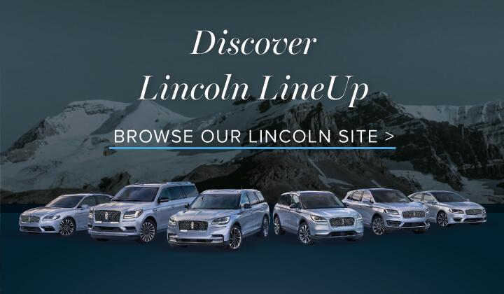 Discover Lincoln LineUp