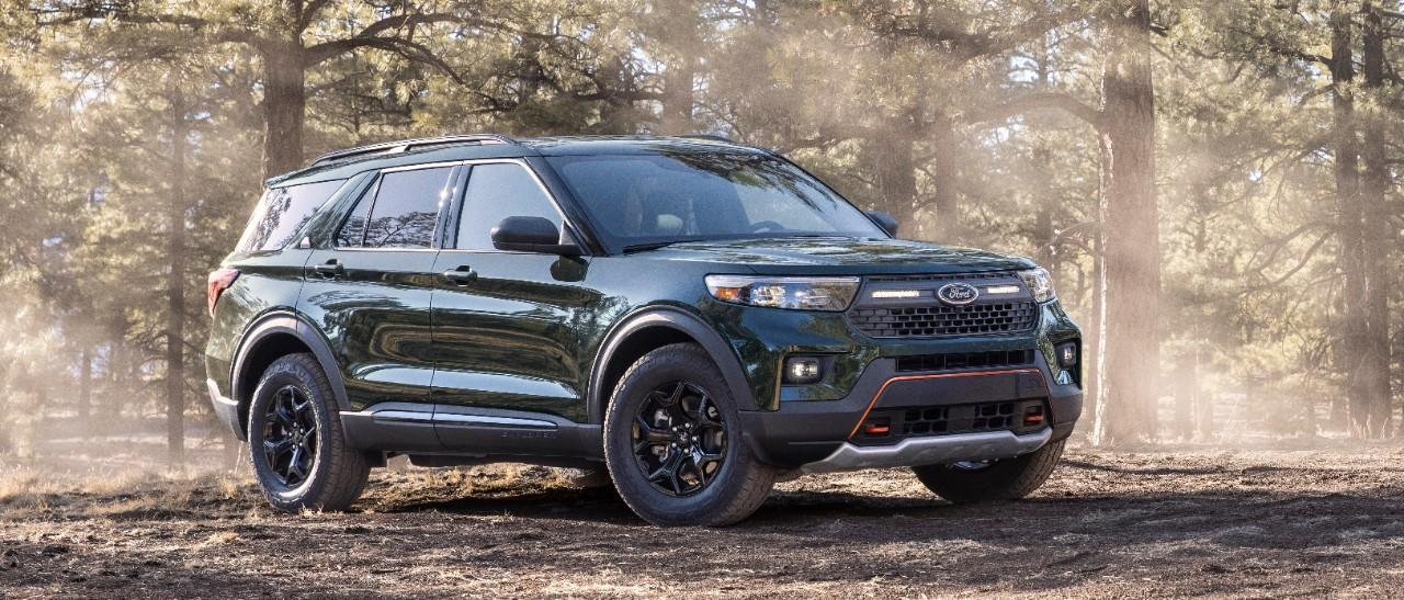 Ford Explorer Timberline: the most powerful version for difficult terrain