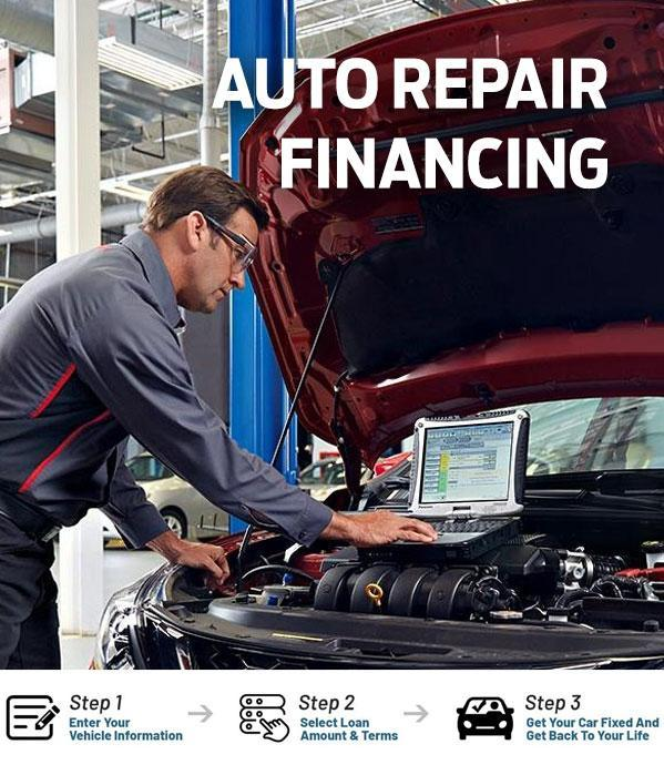Auto Repair Financing at Joe Meloche Ford