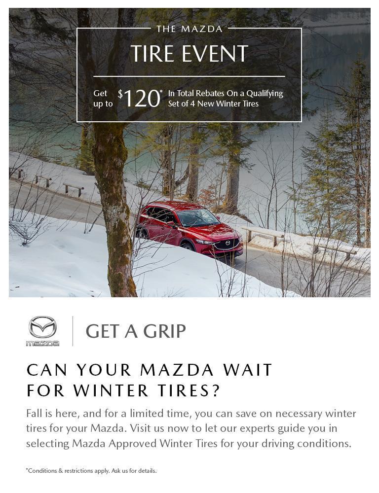2019 Mazda Get A Grip Offer