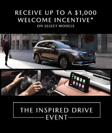Mazda Mobile Homepage Banner June