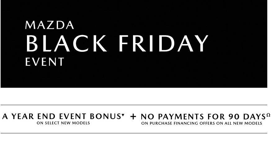 Mazda Black Friday November Offer