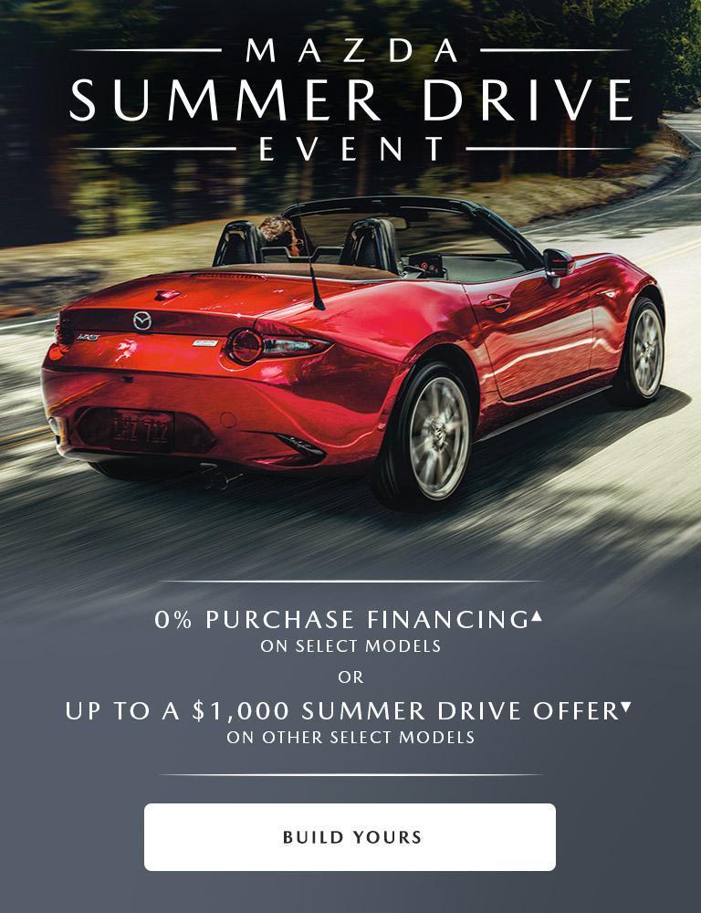 Mazda Summer Drive Event 2019