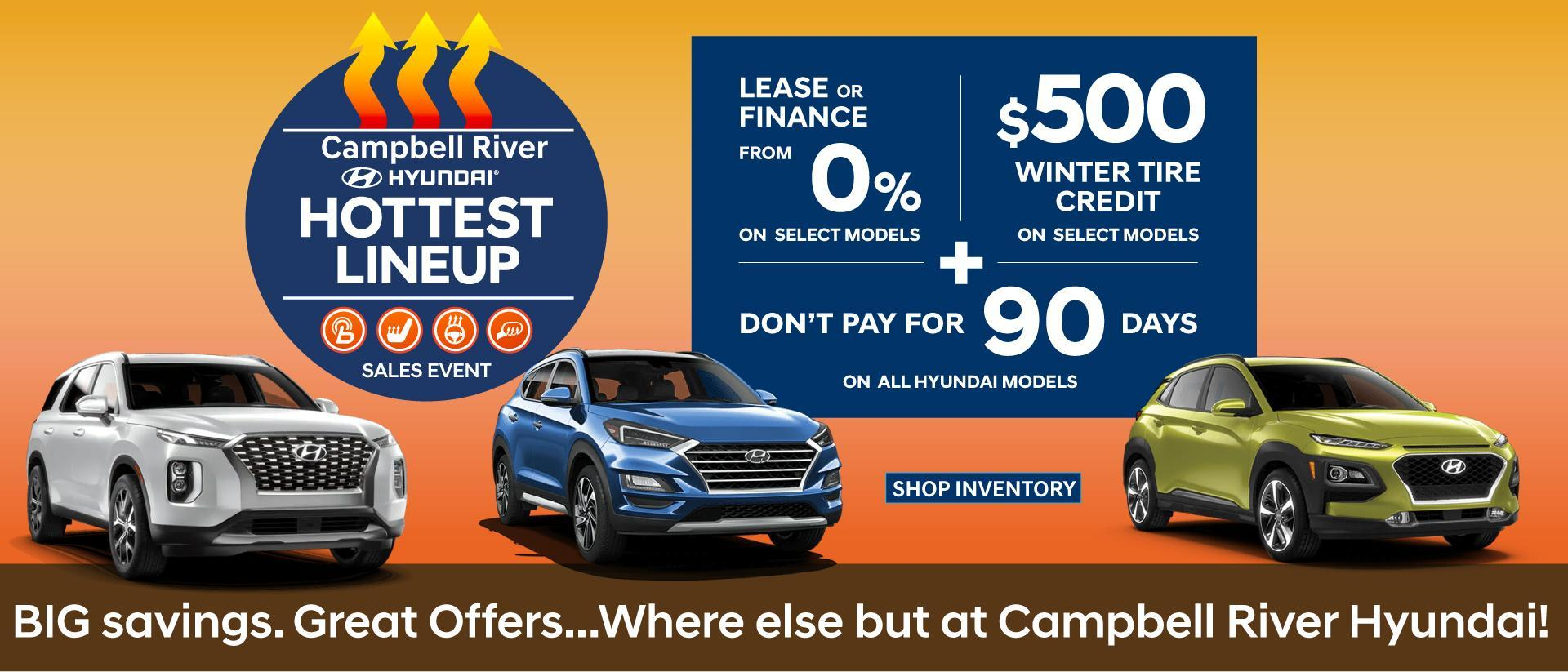 Campbell River November Hottest Sales Event