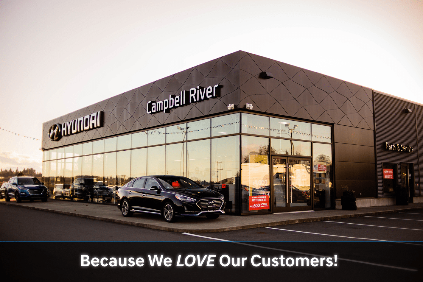 Why Buy from Campbell River Hyundai? | Service Department